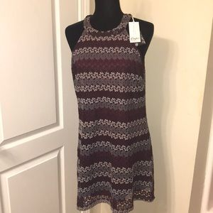 NWT Large Halter Shift Dress